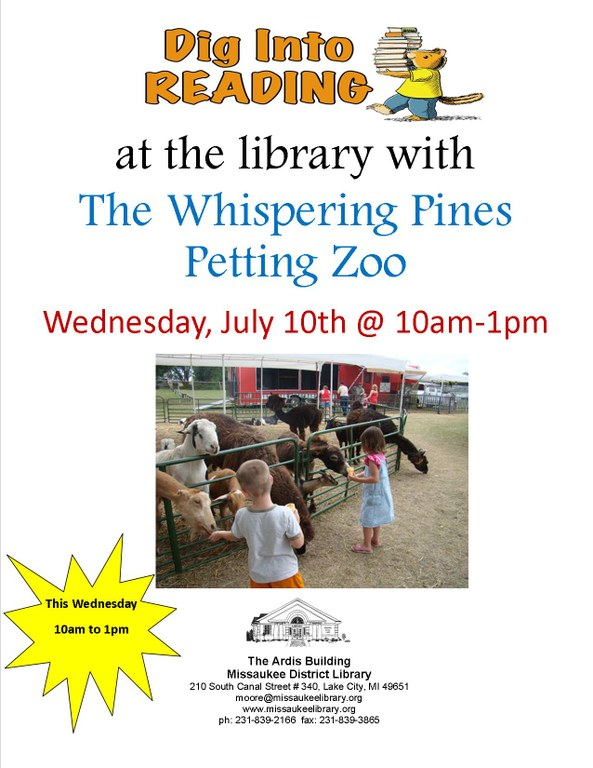 whispering pines petting zoo